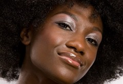 Beauty testing - Black skin
